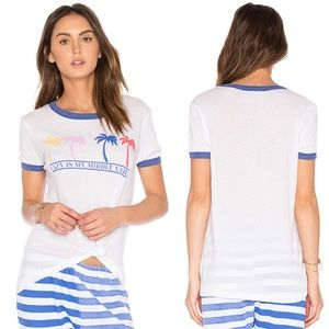 NWT Wildfox Lazy Is My Middle Name Tee